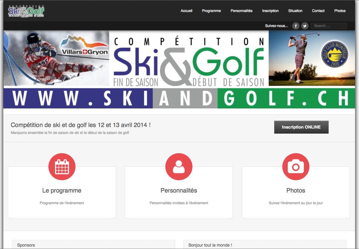 Ski & Golf