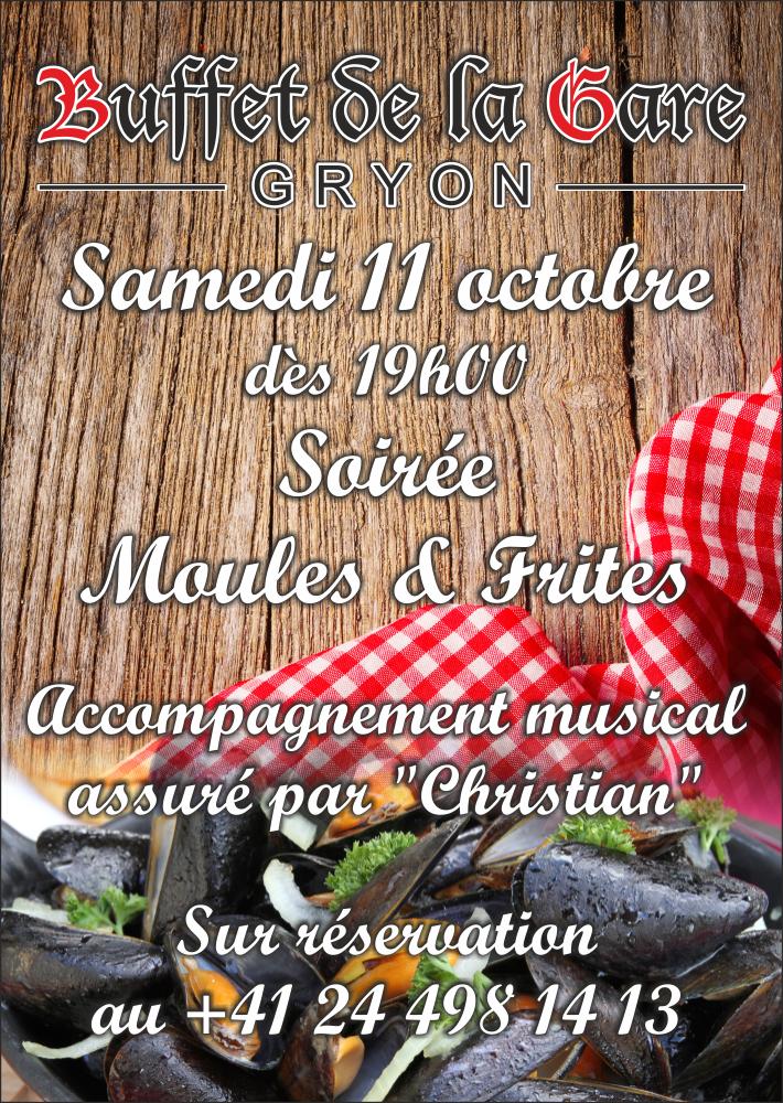 """Soirée """"Moules & Frites""""…"""