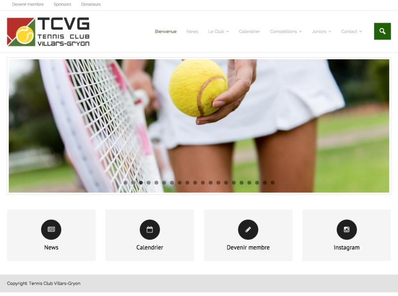 Le site TCVG est en ligne !